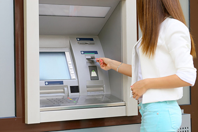 Cash withdrawal from ATMs abroad